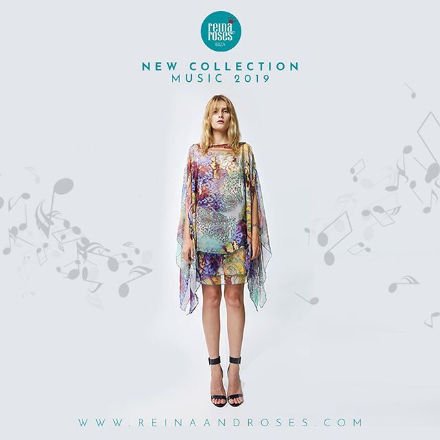 """Just arrived: New collection """"Music""""  Musical threads intertwined in beautifully printed ethereal fabrics skilfully sewn to create unique fashion statements ready to transport you on a journey of melodies accompanied by notes of funk, rock, jazz, classical..... a world of a music to dance through the Summer.  Available online soon at www.reinaandroses.com  #ReinaAndRoses #Ibiza2019 #BohoFashion #IndieFashion #bohemiandress"""