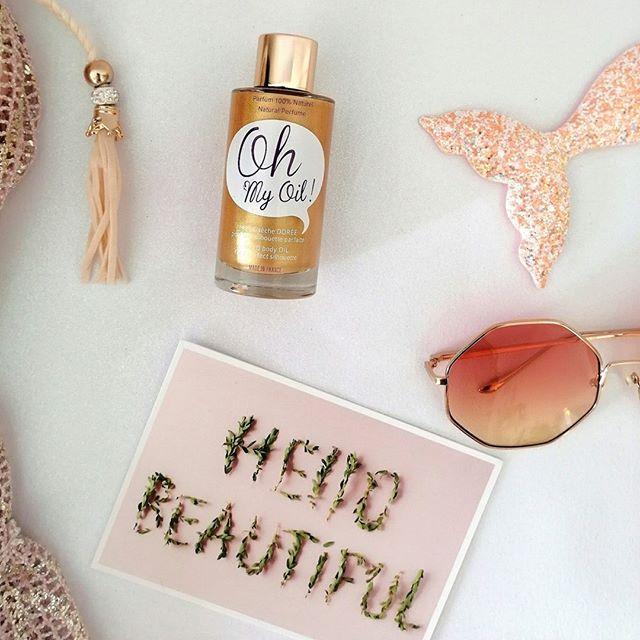 On accueille 3 jours à la Maison @ohmyoil.cosmetics @polygoneriviera, une jolie marque locale d'huile corps et cheveux 100% naturelle avec un actif amincissant et raffermissant : l'extrait de bougainvilliers.  Passe nous voir pour tester l'effet nacré sur ton bronzage 2019. . . . #holiday #natural #oil #cleanbeauty #cosmetique #madamemonsieurofficial #conceptstore #coffeeshop #summer #colors #beauty #skincare  #healthy #instagood  #frenchriviera  #cannes #nice #like #love #photography #mood #bronzage #vacances #beach #sun