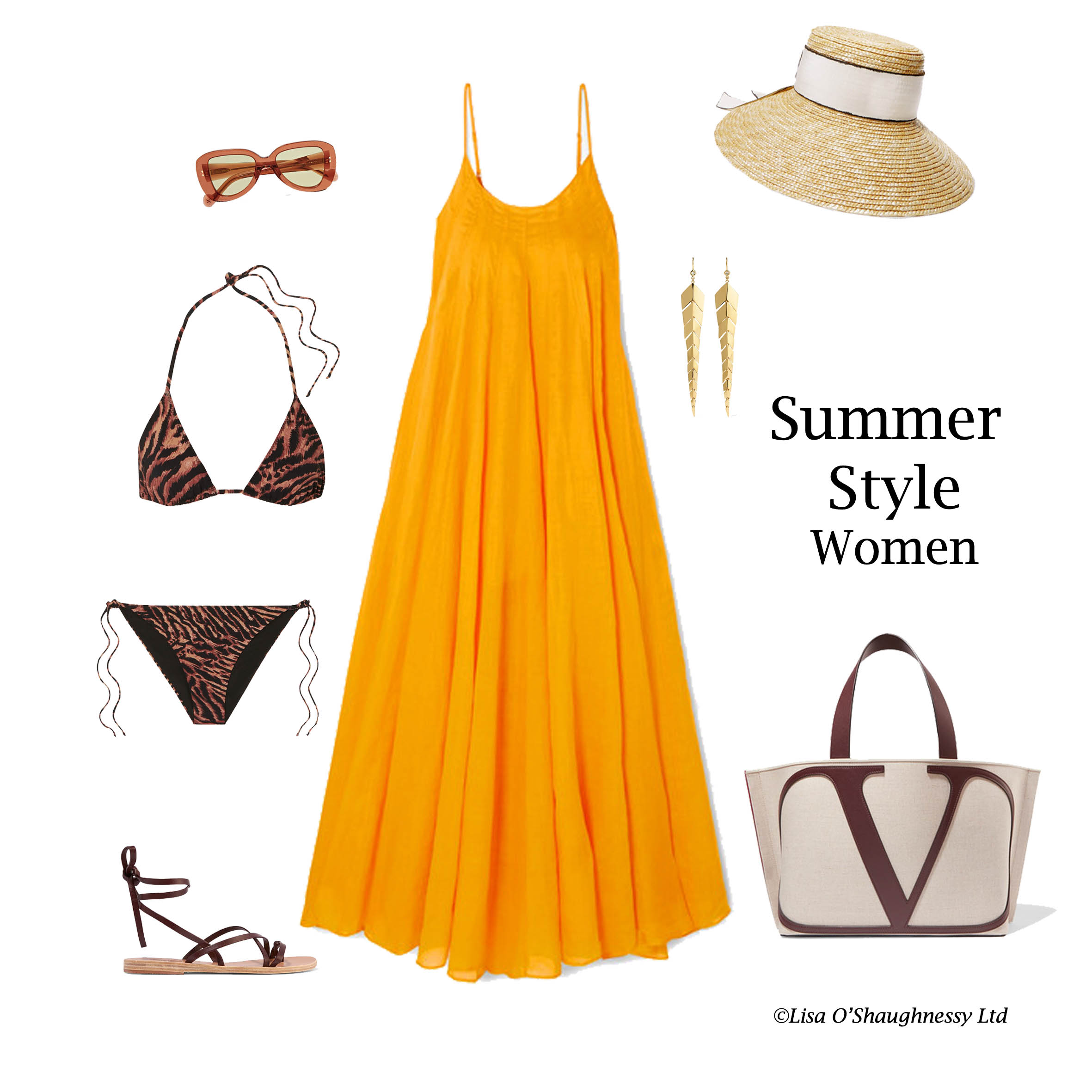 Always Stylish Summer Holiday Personal Styling Outfits