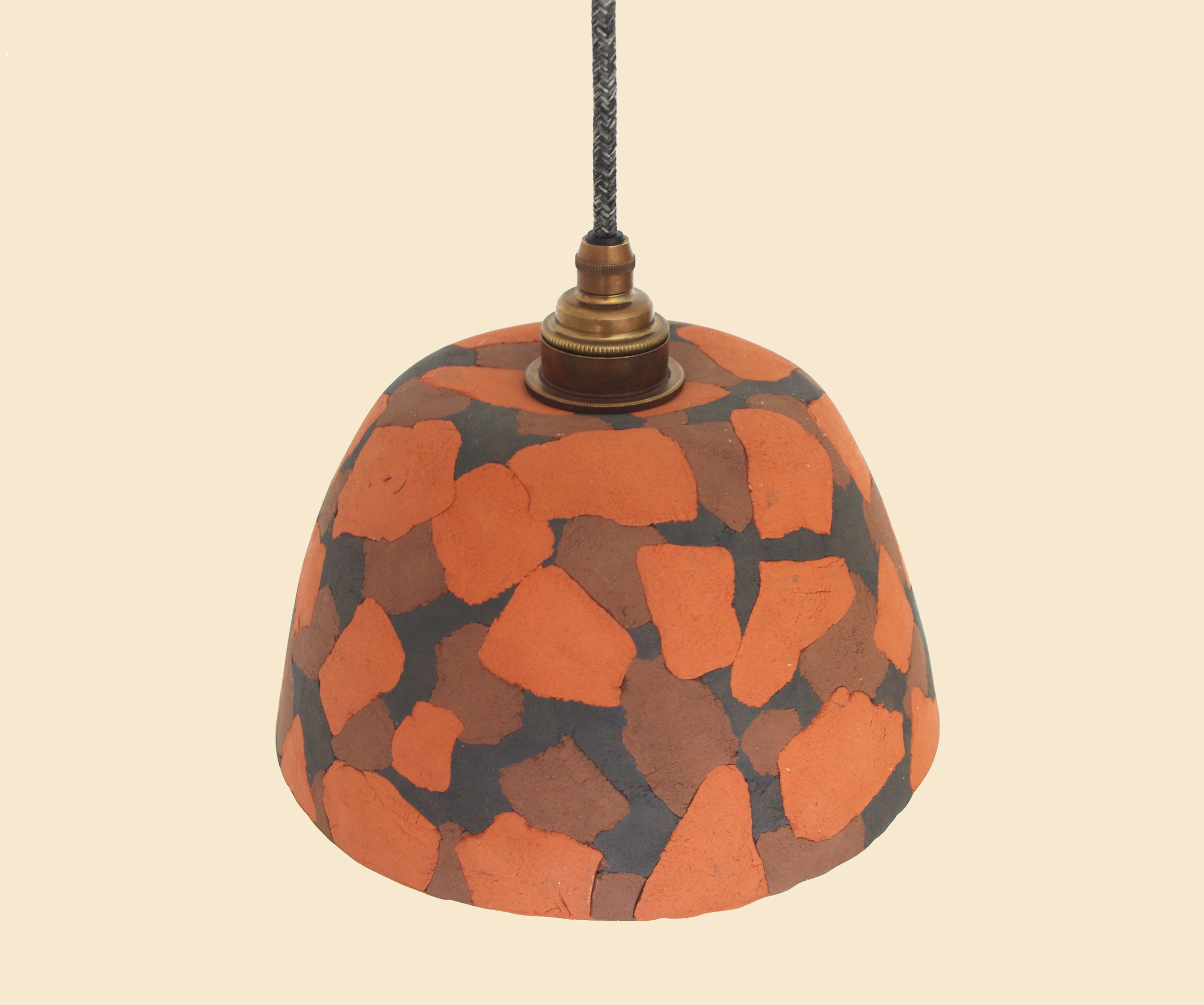 Pressed Terracotta Lampshade.jpg