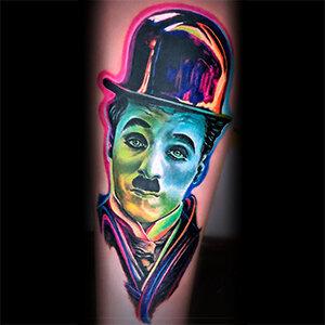 Voorbeeld van een neo traditional tattoo gezet door Ona