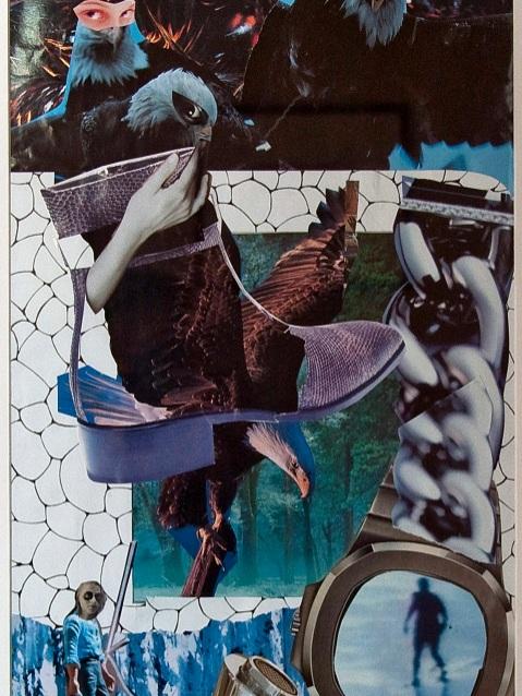 L'ŒIL DU FAUCON   2005 - 11 X 22  Disponible à la vente