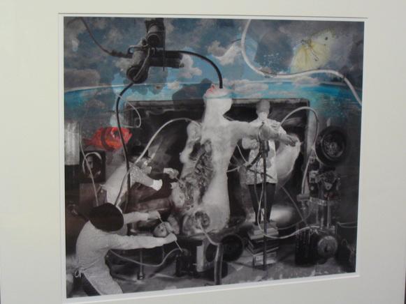 Collage Paul Lowry - Photo : Georges Krump