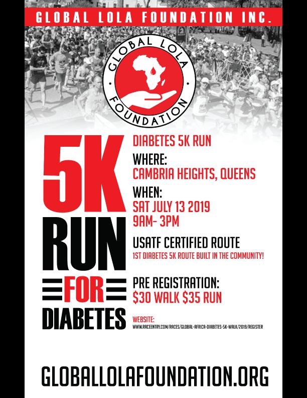 5K Run for Diabetes -