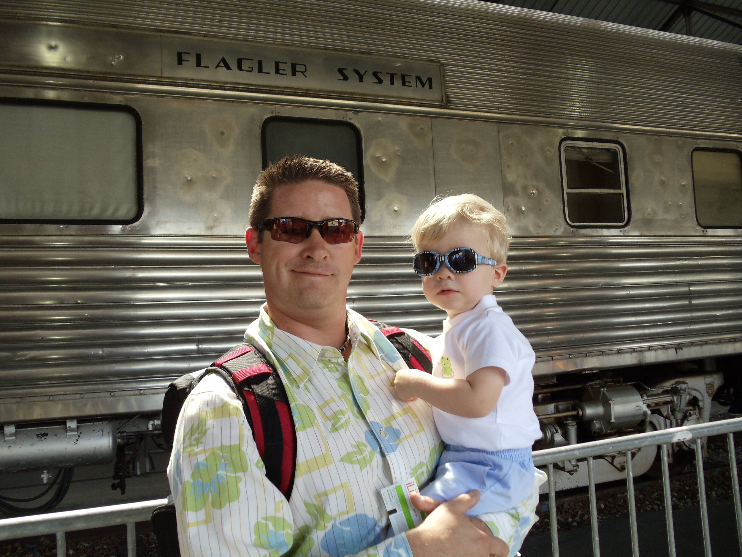 Mommy and Kid Travel - Train Museum