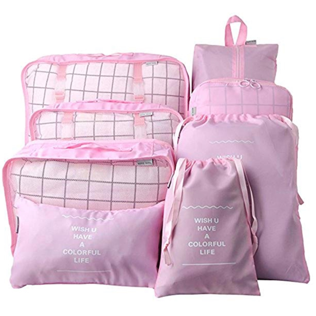 Packing Cubes - Travel game changers! Pack for your family with ease.