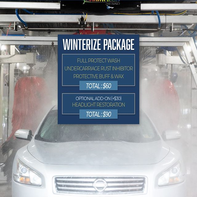Need to get your car ready for the holidays? Come take advantage of our winter special -- we'll make your car gets some extra special TLC!