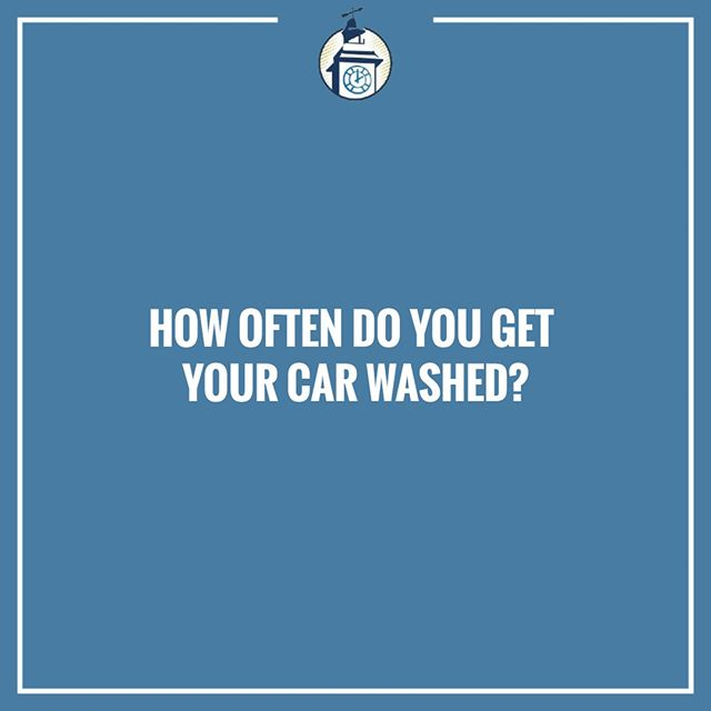 Are you a weekly washer or an occasional cleaner?