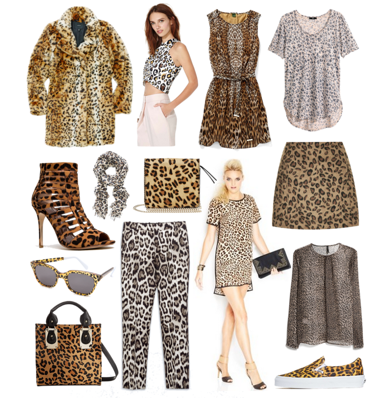 - HowtowearLeopard!Pair a leopard-print blouse with yourfavouritejeans.Loosely front-tuck your blouse and finish off your outfit with flats or heels, depending on how dressed-up you want to look.Wear leopard flats for work and the weekend.Leopard high heels are awesome day or night, but, depending on where you work, they might be a bit fashion-forward for the office. Instead, try a leopard-printed flat. They're great for dressing up work wear basics like black pants and white collared shirts, and they make it easy to take your look from the office to anightout without actually having to change.Break up a flowy leopard dress with neutral accessories.Most people, when they hear the phrase