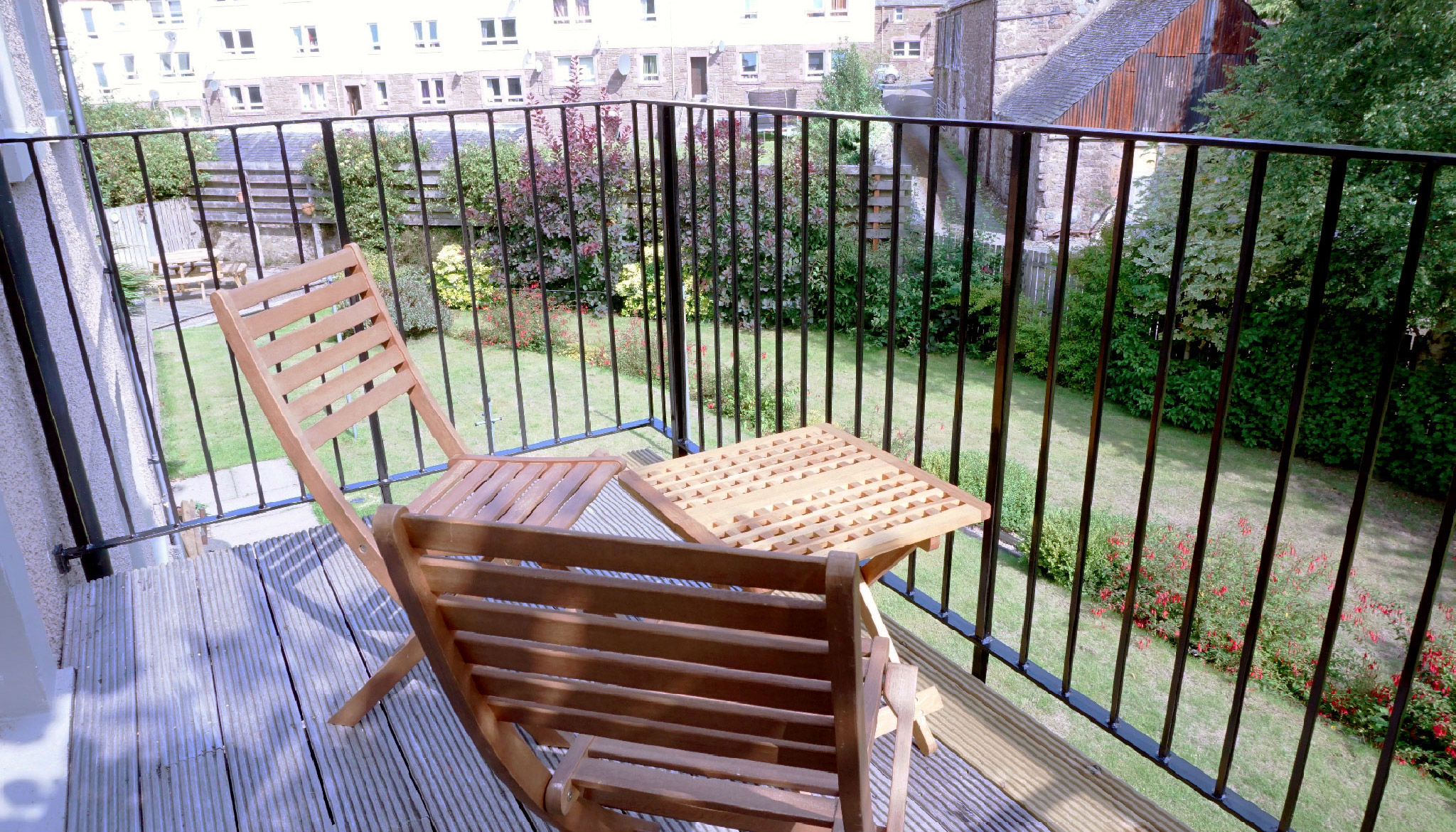 Balcony from dining room