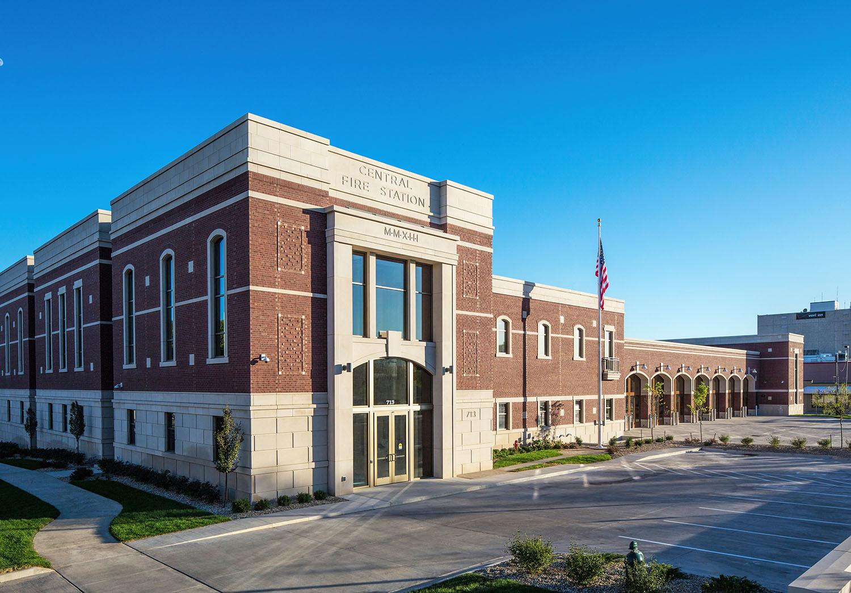Cedar Rapids Central Fire Station