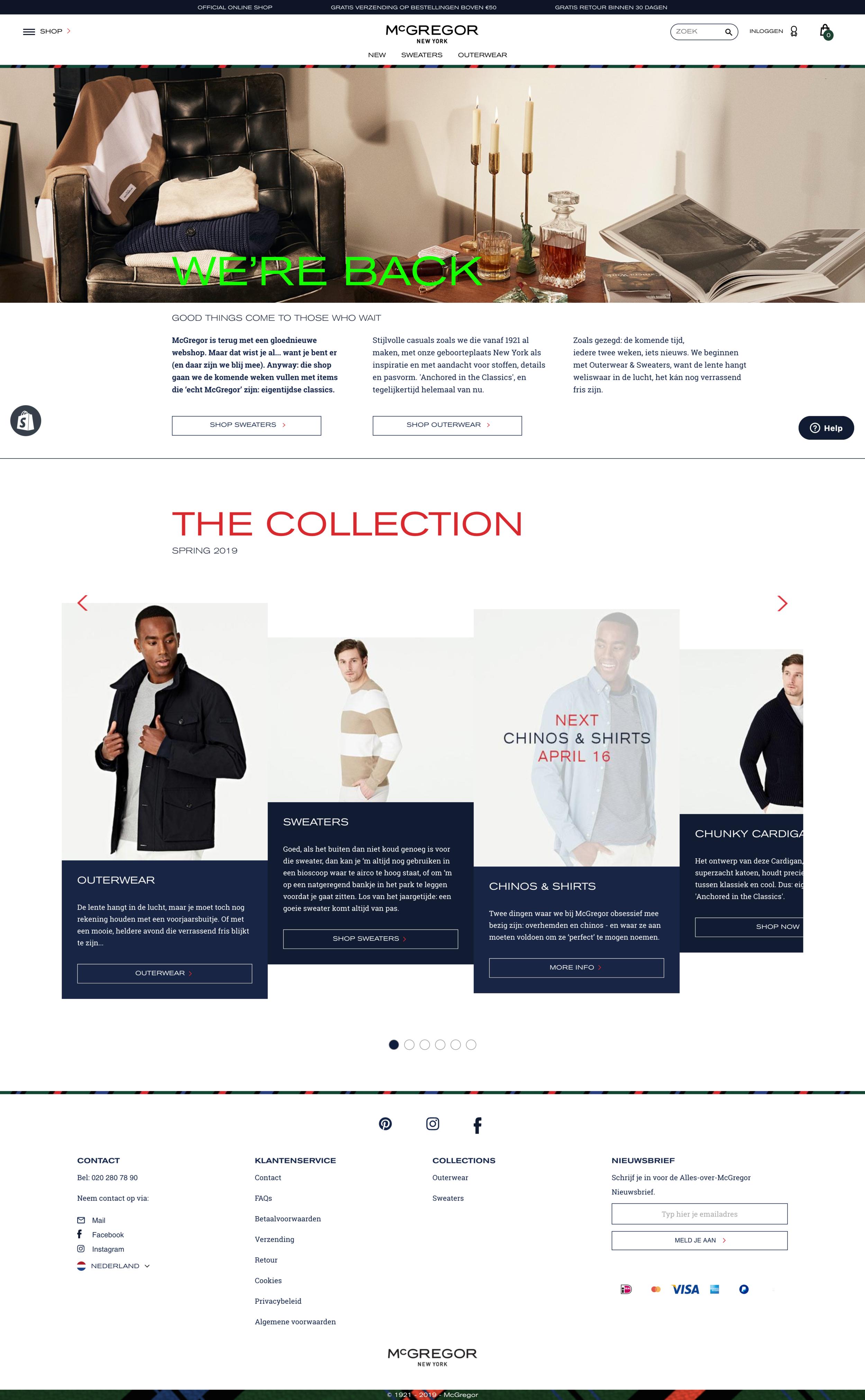 McGregor New York website