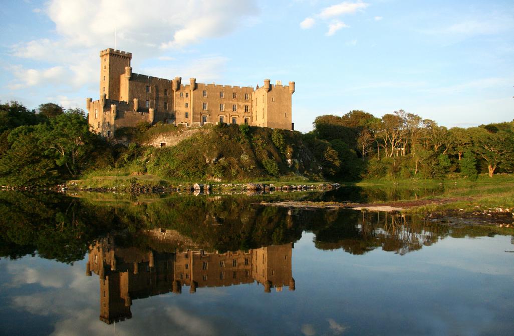 Dunvegan Castle - Dunvegan Castle, Gardens and Pier.