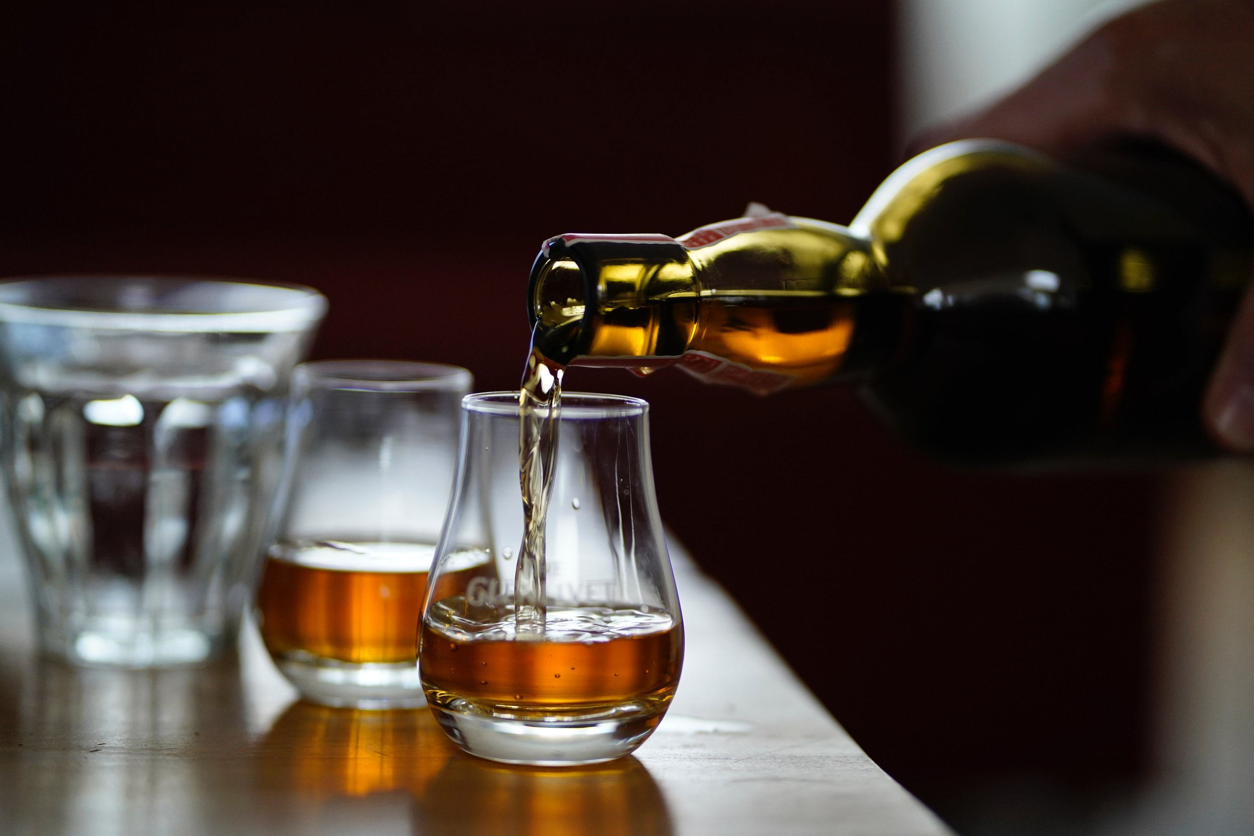 Talisker Distillery - The oldest working distillery set on shored of Loch Harport.