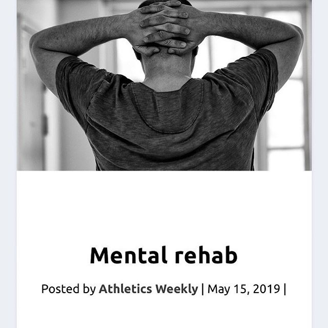 Repost with @withrepost • @optimise_potential . Athletes often report a number of negative psychological consequences when injured . Depression, frustration, stress, anxiety, anger, rehabilitation compliance problems, poor concentration and exercise addiction are some of the emotions and behaviours injured athletes have. In some cases responses can be clinically significant . However some people when injured react more positively. For them an injury is a challenge to overcome and an opportunity to come back stronger . Developing effective ways of coping with injury setbacks is therefore important to help navigate what can be a difficult time . @hannah_winter_performance from Optimise Potential spoke with @athletics.weekly on strategies athletes can use to cope with injuries more effectively . To check it out, head to the news section of our website. Link in bio! . . . . . . #performancepsychology #sport #athletes #athletics #sportpsychology #injury #copingskills #copingmechanism #sportsinjury #mindset