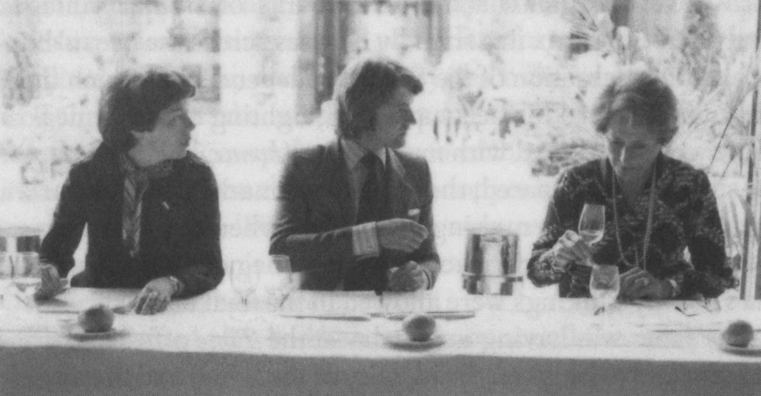 Steven at the 'Judgement of Paris', 24 May 1976.