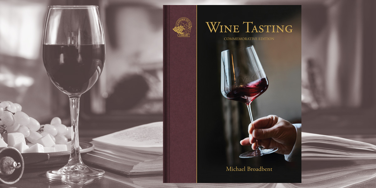 Wine Tasting by Michael Broadbent (out now)