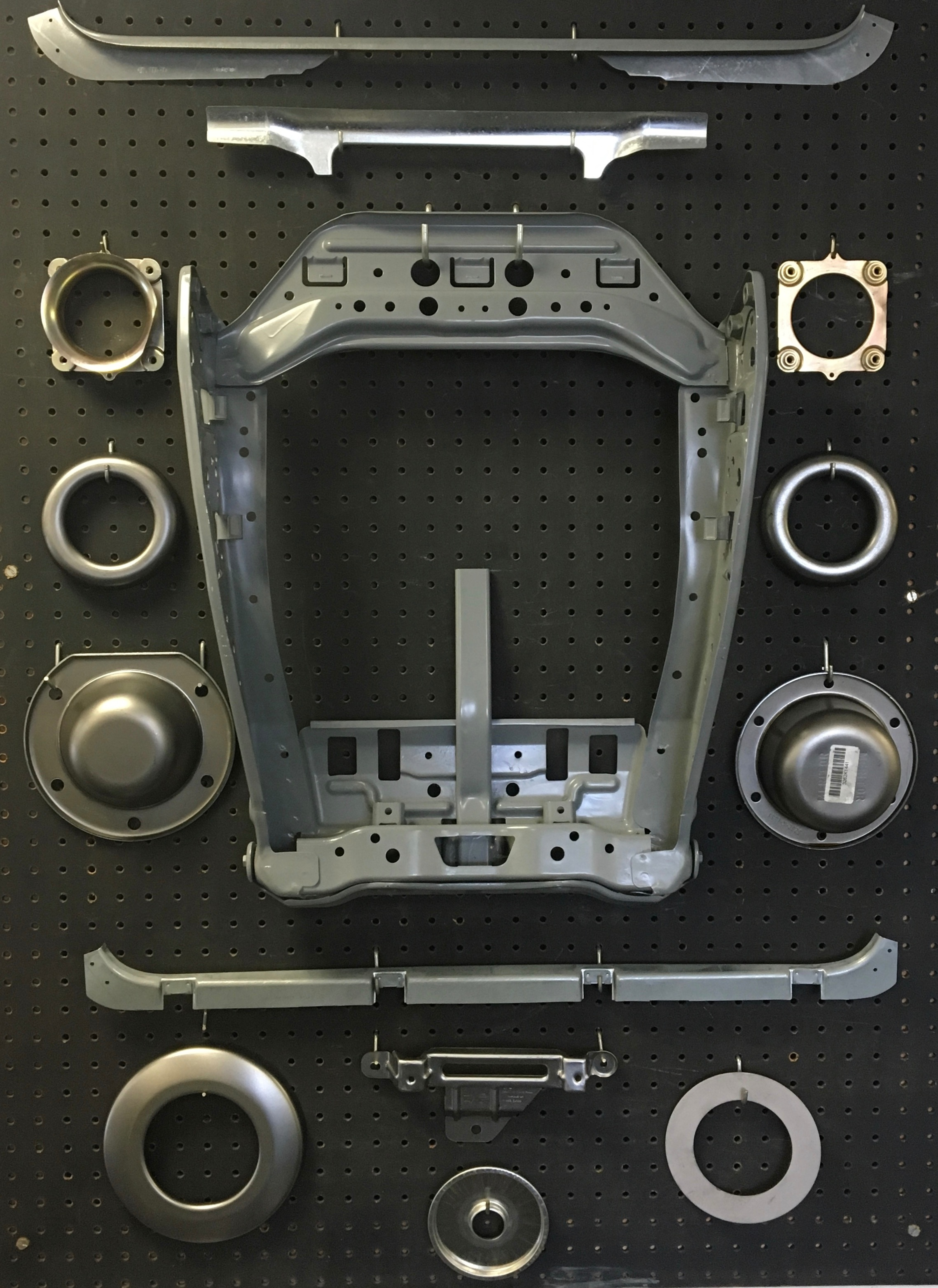 seat components, sunroof component