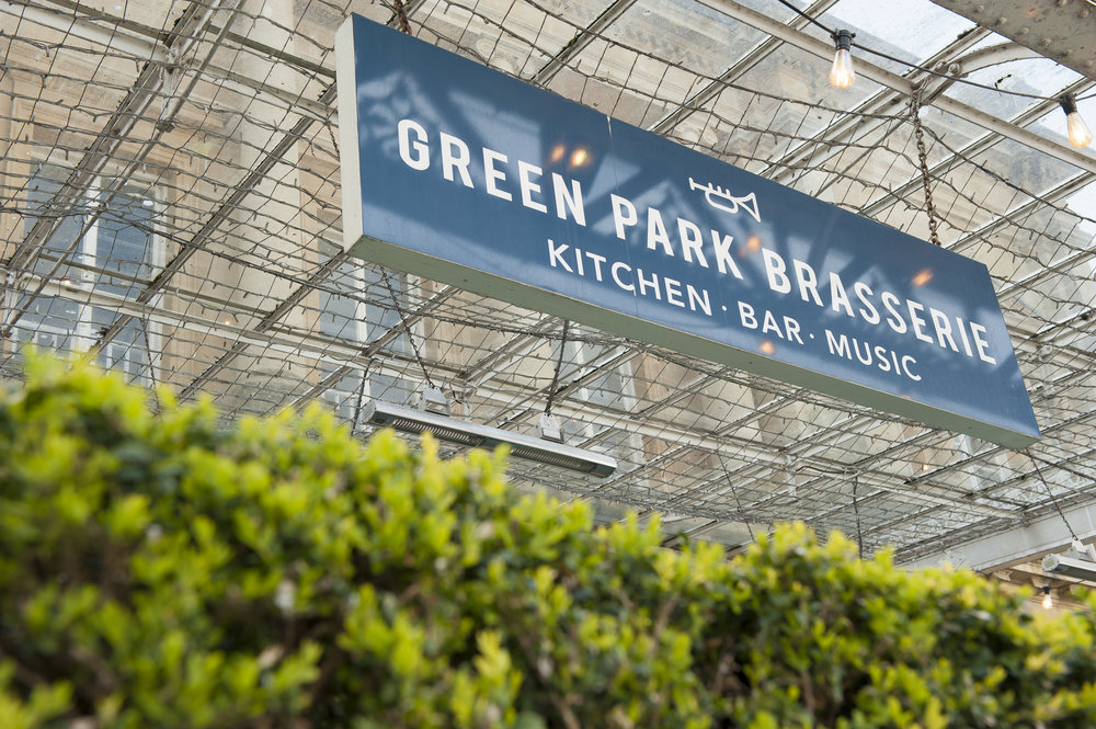 Food Drink Green Park Station