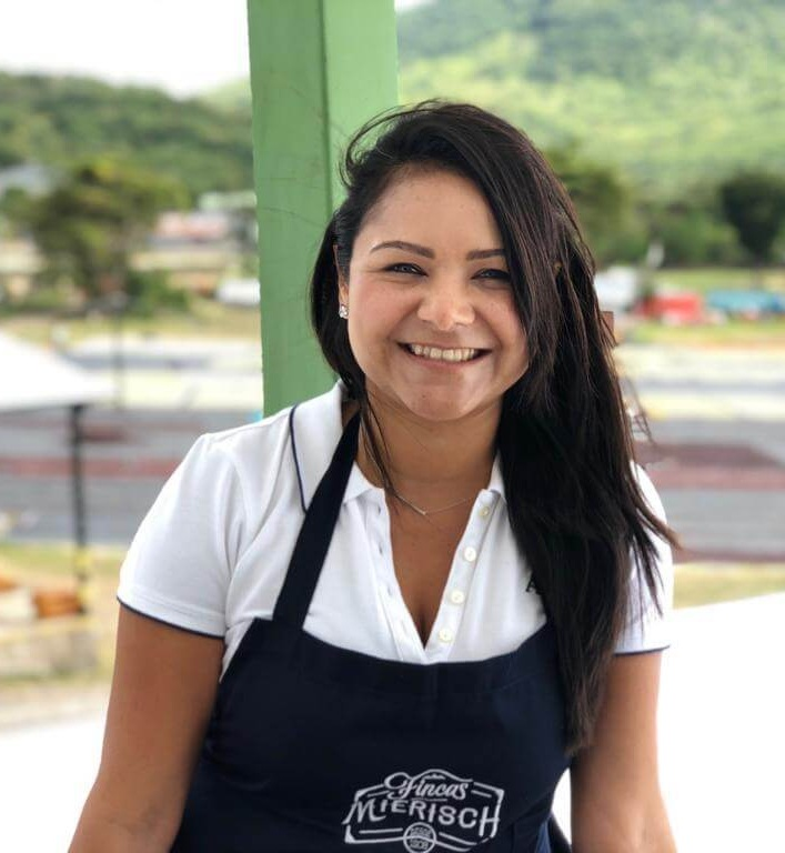 "Haisell Beteta - Haisell Beteta has been working for Beneficio Don Esteban since 2014. She knew nothing about coffee beforehand, and everything she has learned has been through experience. She worked her way up in a variety of roles: working reception, where wet parchment is received and green quality is assessed before processing; drying the coffee on the patio or raised beds; managing the inflow, storage, and outgoing coffees in the warehouse; managing exportation of shipping containers; and now finally she is the General Manager of all personnel. Her unique perspective of teamwork and productive work flow comes from a strong sense of loyalty and compassion for her team. She works intimately with Eleane in the Cupping Lab, and she participated in the International Jury of Cup of Excellence Nicaragua 2018.""All the experience acquired in the last years has committed me to work with a lot of passion in the coffee world. Encouraging the team to focus on small details is what makes us different. Focusing on working with quality and maximizing our resources is the way to success. It is incredible what we can contribute to improve our processes. 80% of our team are women who have shown that we are the more important intellectual work force and I feel proud to be part of it."""