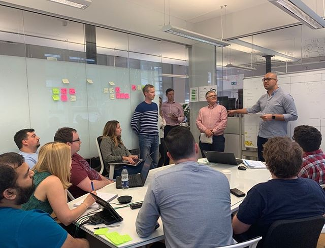 The Hackathon Pitch Afternoon is underway here at iRiS HQ. With over 60 ideas submitted our developers are going to have to make some tough decisions on what ones they would like to work on! #eyeoniris #hackathon #hospitality #hospitalitysoftware #developers