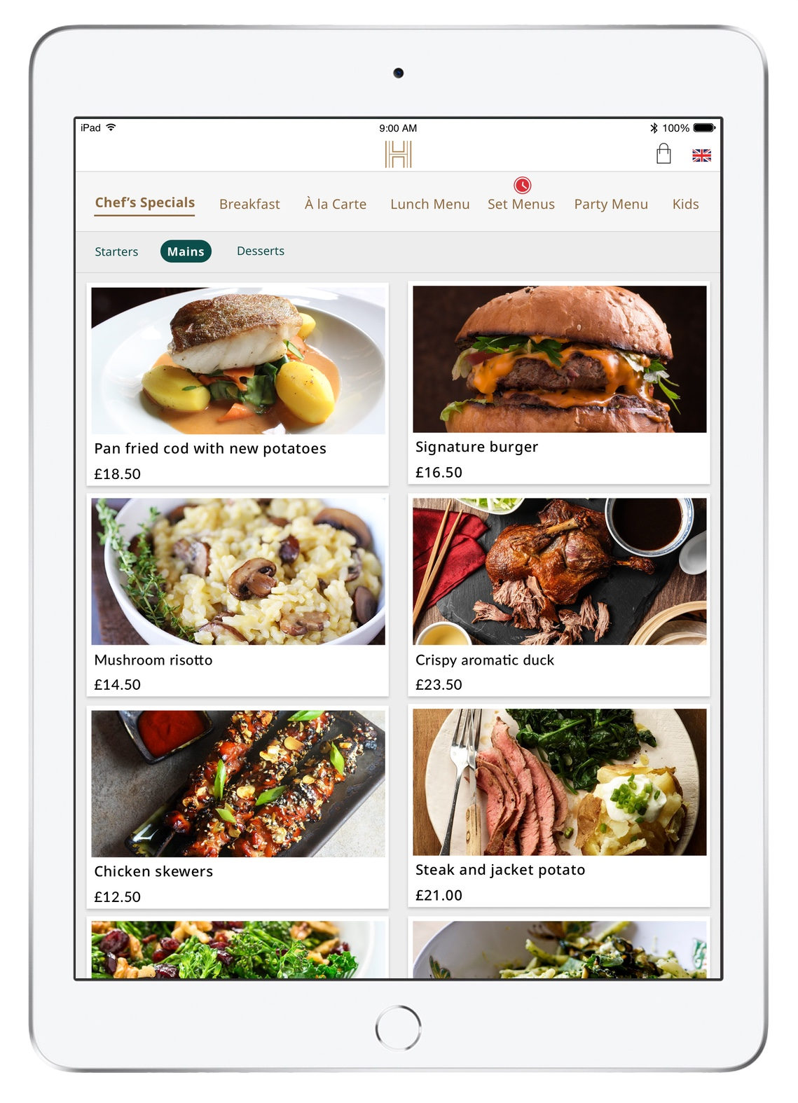 iRiS Guest Table - Now your guests can use iRiS Guest in the restaurant! The app can be setup to be a simple digital menu for your guests to browse or add wanted Items to a Shortlist, or you can allow your guests to send the orders straight to your POS system. We connect to some of the most popular POS systems in the world, and can synchronise your menu into our platform. You just need to add your images to bring the menu to life, and publish. Soon we're going to be adding Combo Meals, Set Menu, Append to Cheque, and Payment. Your guests are going to love it.