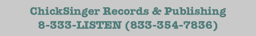 ChickSinger Records & Publishing