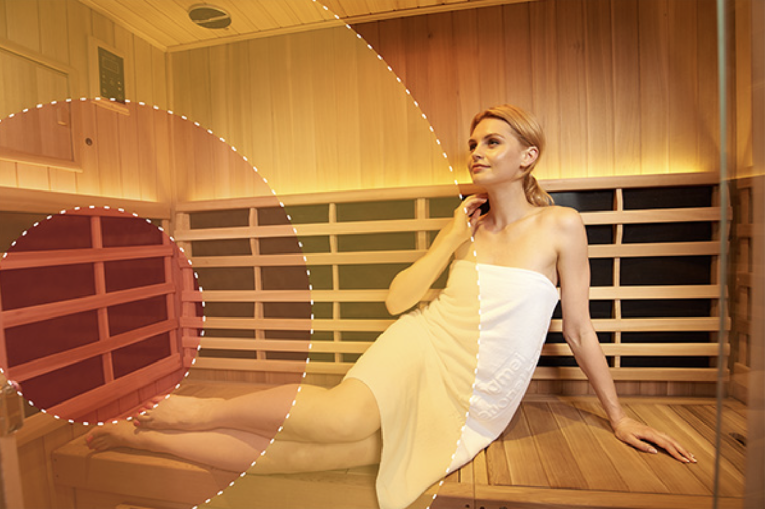 STRESS AND FATIGUE REDUCTION - Just a few minutes in the gentle warmth of an infrared sauna will help you feel relaxed, rejuvenated and renewed.Many Jacuzzi® Sauna customers comment on how much they look forward to their Clearlight Infrared Sauna™ session, as it's a great time to get away and release any built-up tension and stress. It's like having a day spa in your home, open all the time for your convenience.Infrared Saunas have also been shown to affect the autonomic nervous system putting you in the parasympathetic (rest and digest) state allowing your body to heal.
