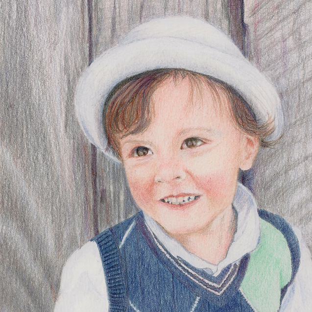 Portraits, Fine Art Colored Pencil Paintings, Andrea Stutesman-007.jpg