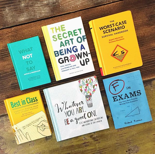 Books for the graduate. (Disclaimer: some more helpful than others 😬) * * * #graduationgifts #orlandofl #shoplocalorlando