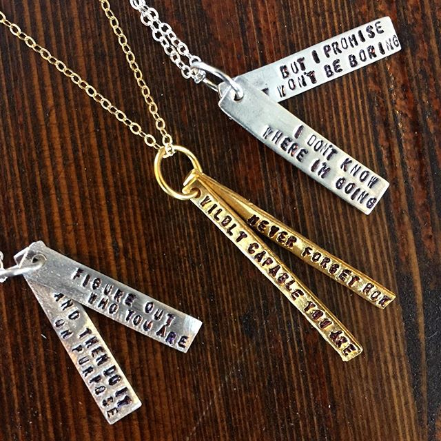 Keep those grads moving onward and upward. * * * #graduationgiftideas #sterlingsilver #14ktgoldvermeil #collegeparkfl #quotestoliveby #dollyparton #davidbowie