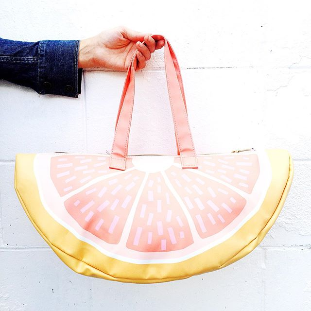 Um. It's going to be almost 100 degrees this weekend. Who needs this cute (and quite necessary) cooler carryall? #itsnotevensummeryet * * #shoplocalorlando #memorialdayweekend #floridabeaches #32804