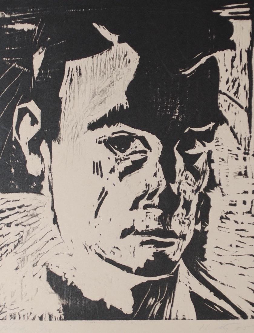 Study (Self Portrait), 1955