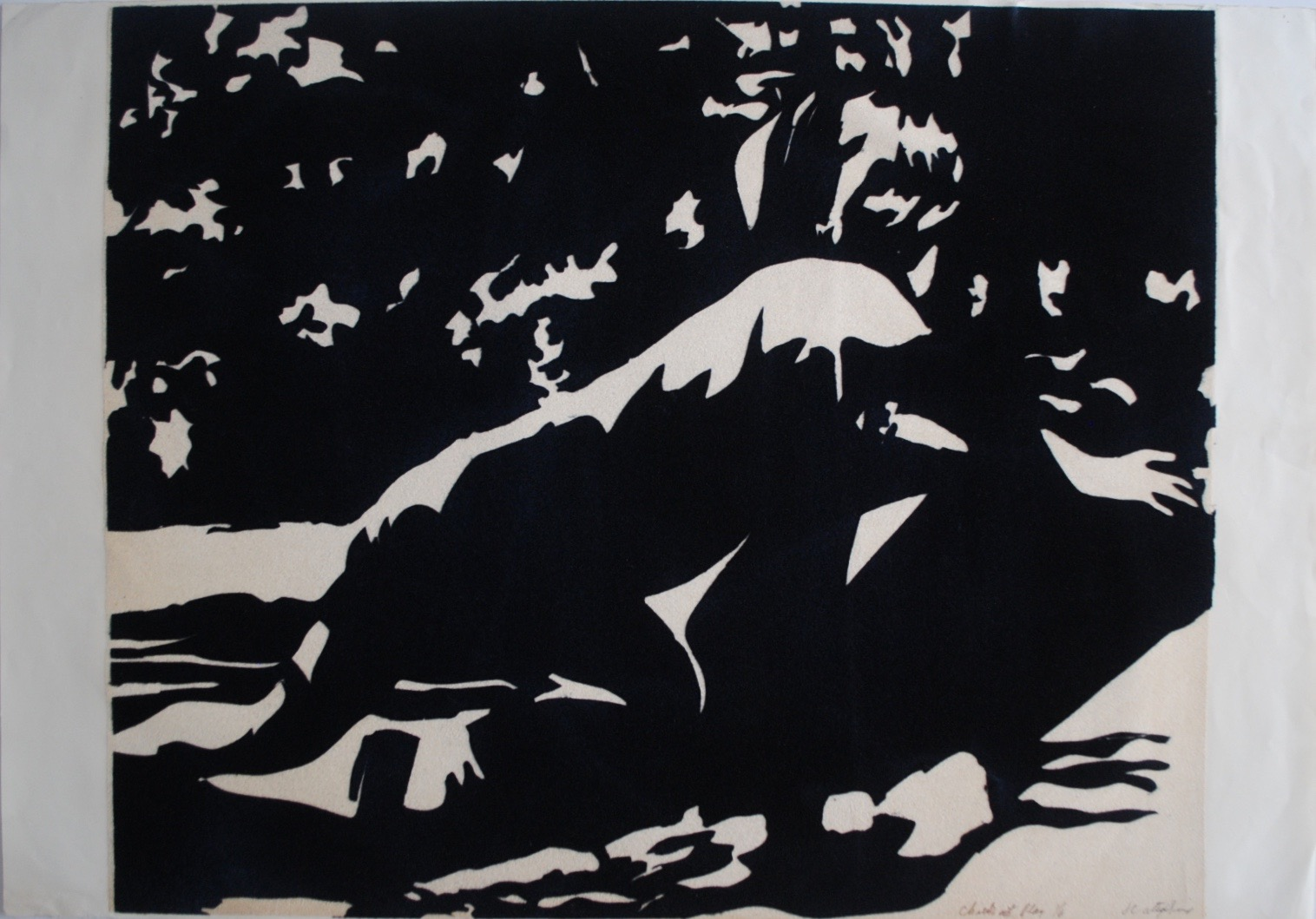 Child at Play (in Black), 1968