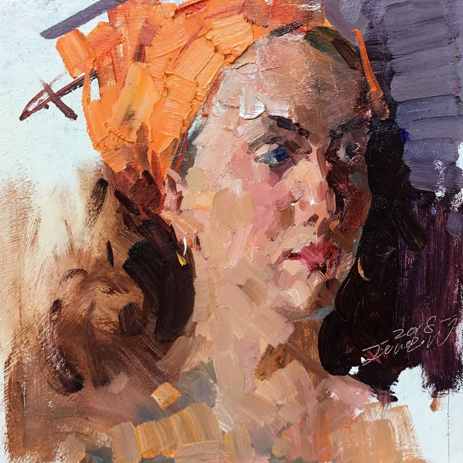 Painting Demo by Jove Wang (2018)