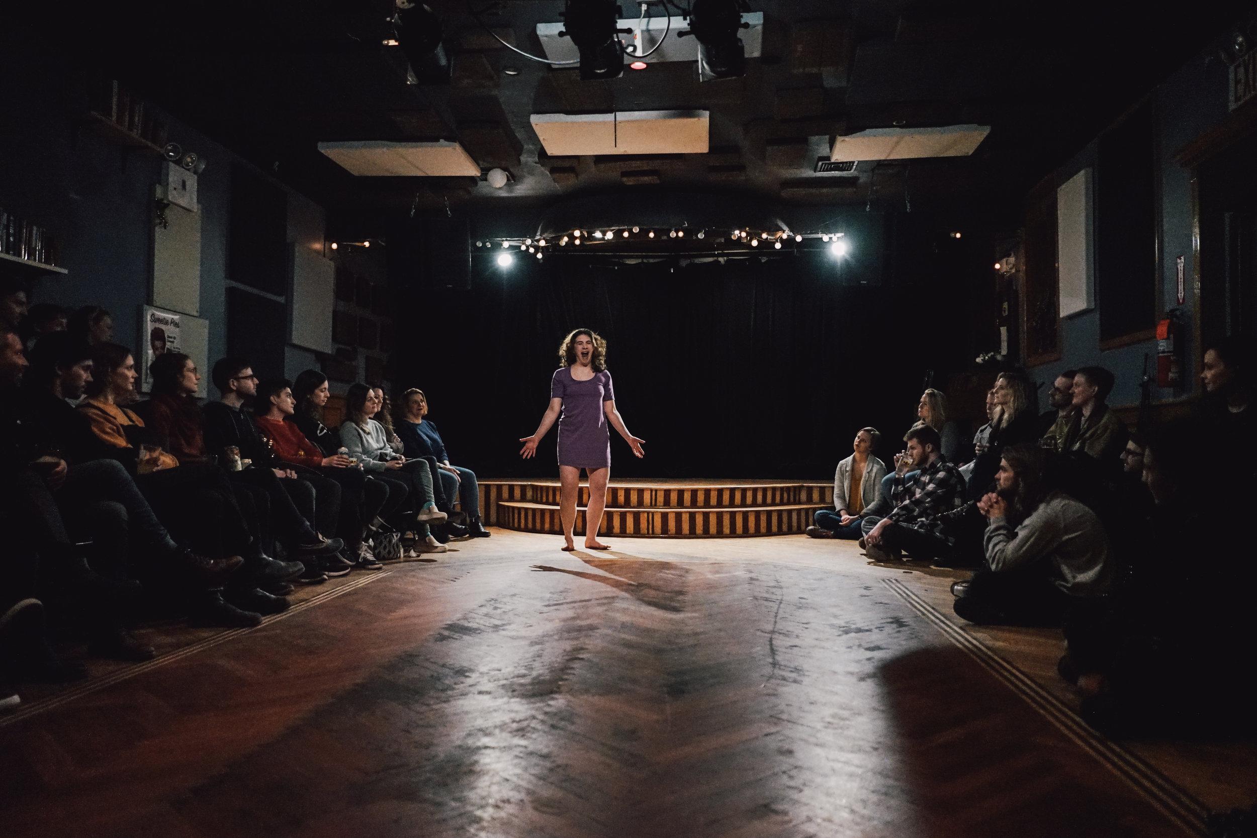 Dance in a Purple Dress (2019)