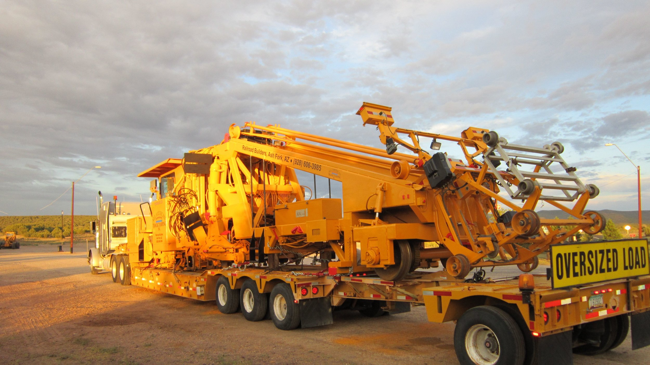 Heavy Equipment Relocation