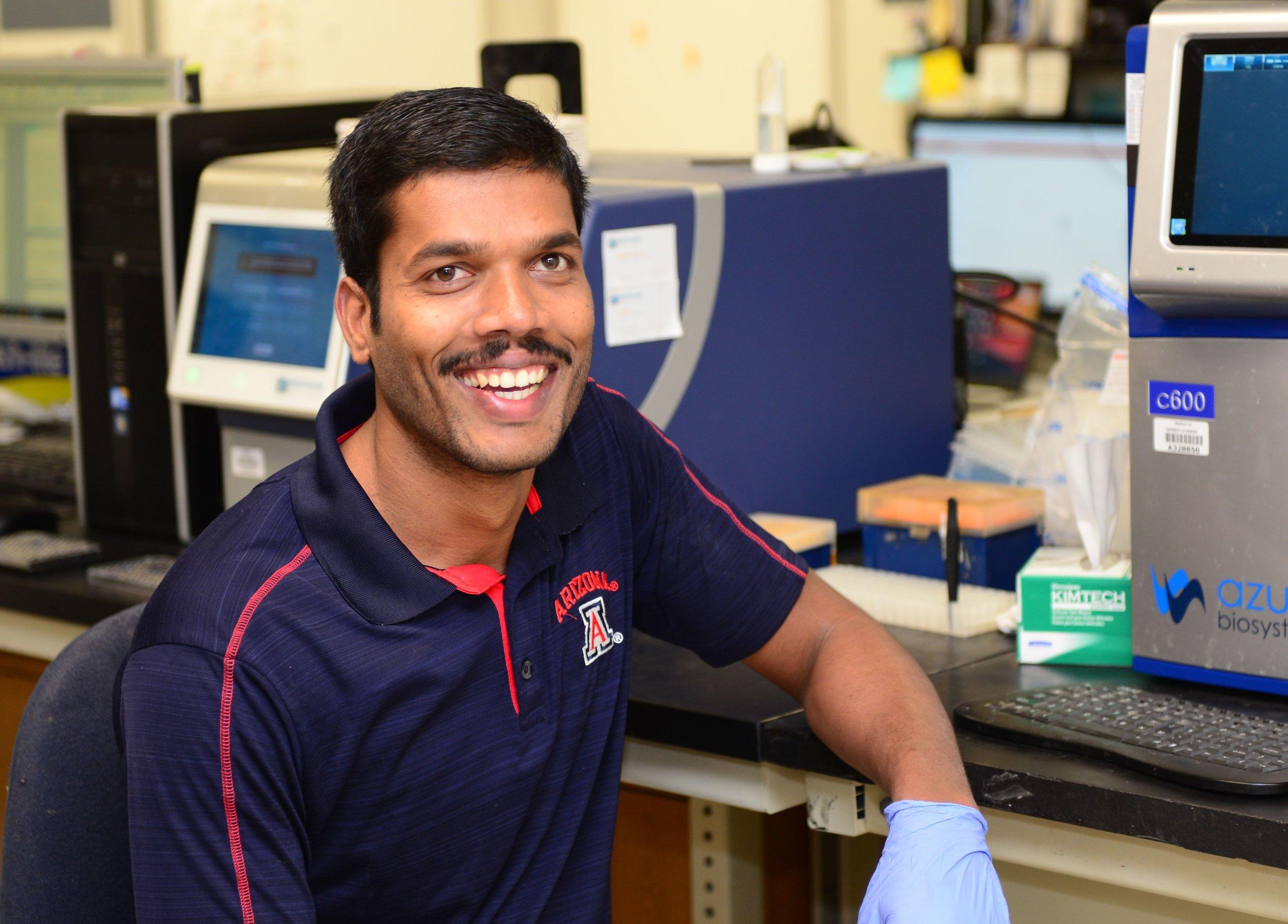 Anandhan Annadurai, PhD  Post-Doc