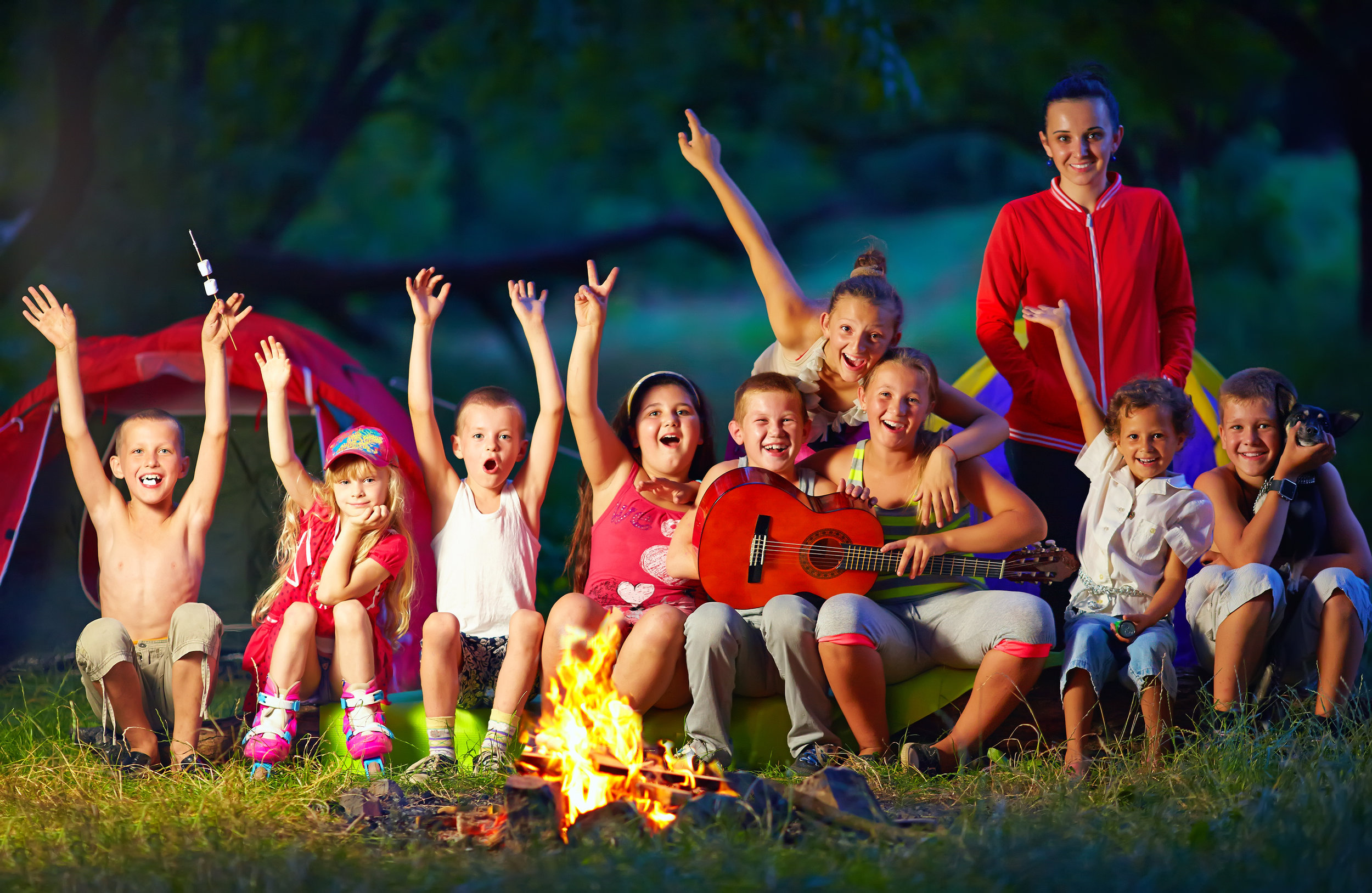 S'more Camping - July 22nd - July 26thIt's off to camping we go! Gather around our campfire for story time and learn about nature and of course make s'mores! We will have a scavenger hunt, arts and crafts , and s'much more!