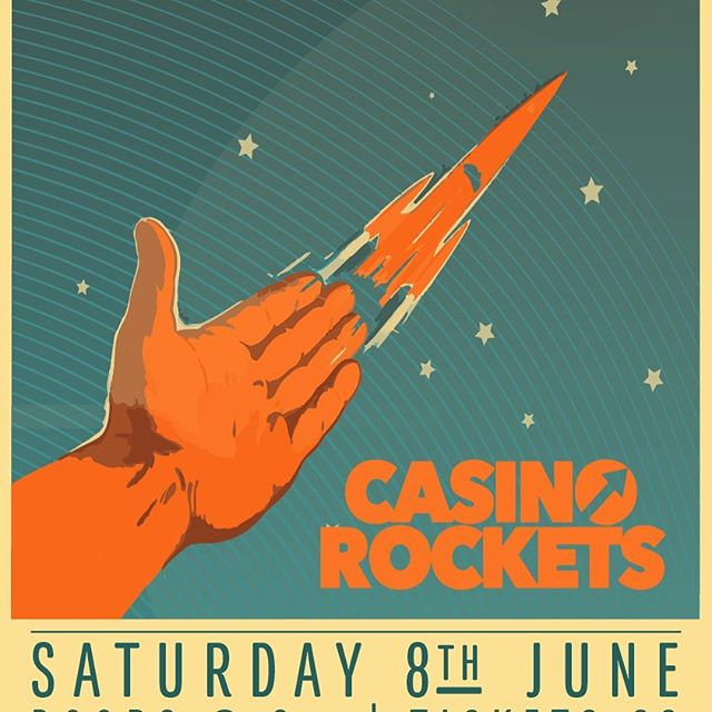 Casino Rockets are to play the Lantern in Halifax on Saturday the 8th June. Halifax, we're back!!!