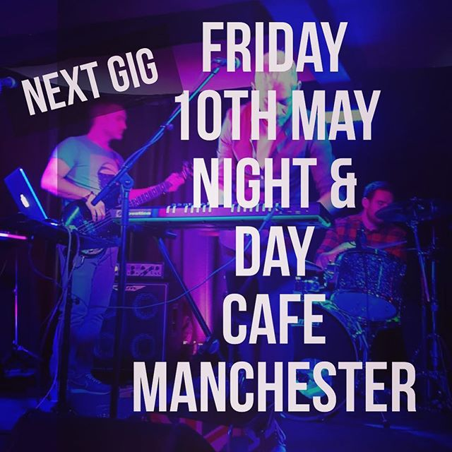 Not long now, our next gig will be at Night & Day Cafe in Manchester on the 10th May. Propulsive electro indie with edge.
