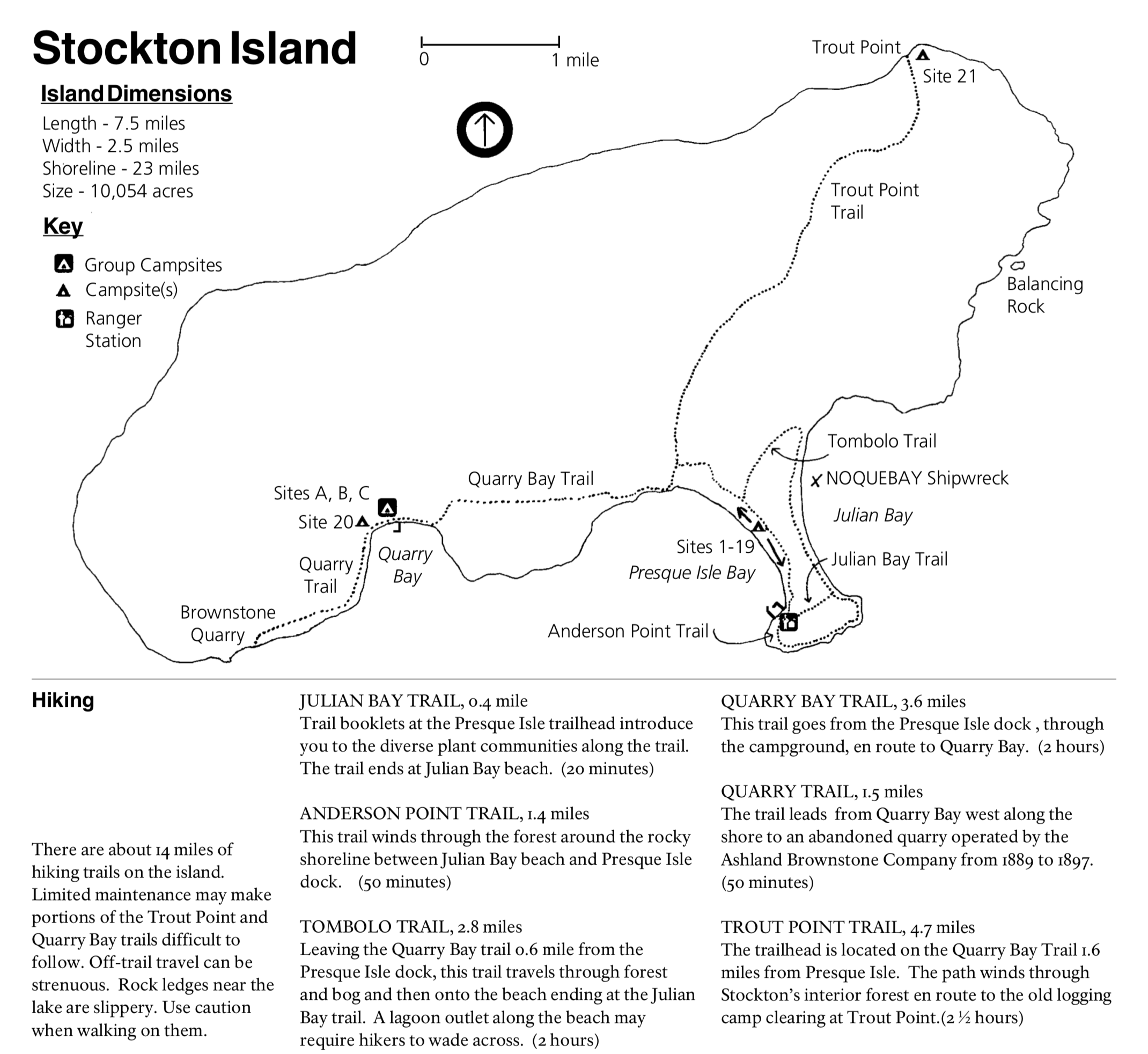 Download Stockton Island Brochure from NPS