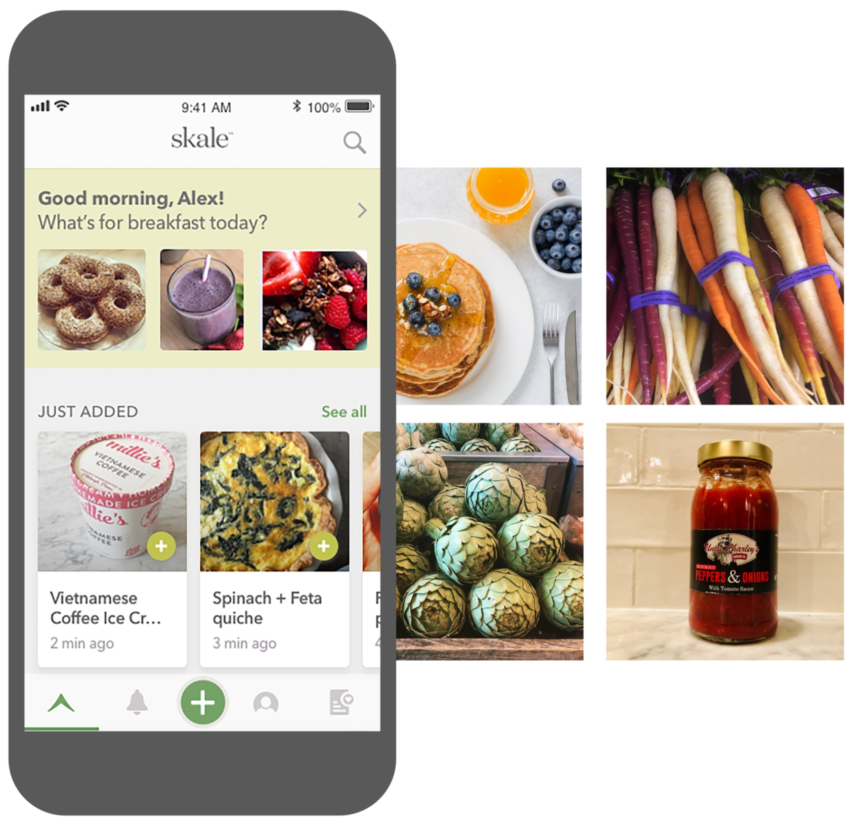 Discover - products and dishes to inspire your tastes.