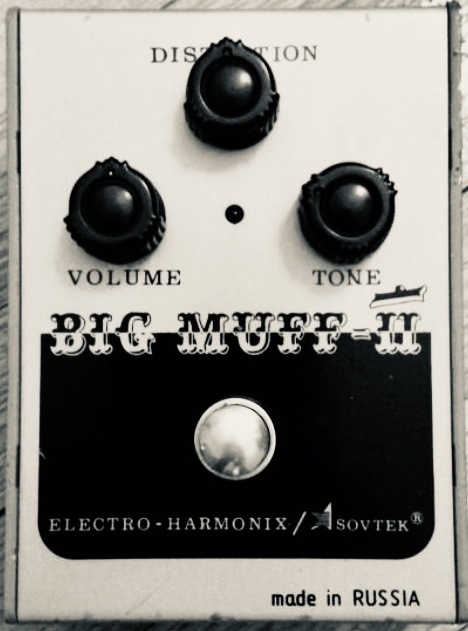 The 'Civil War' v7 Big Muff Pi pedal by EHX / Sovtek