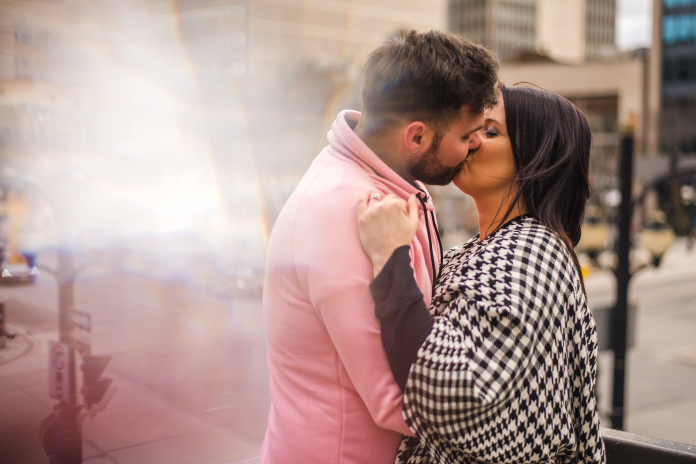 Alex & Michelle's Downtown Hamilton Gore Park James Street North King Street East Engagement Session Aidan Hennebry Urban Wedding Photographer Hush Hush Photography & Film-19.jpg