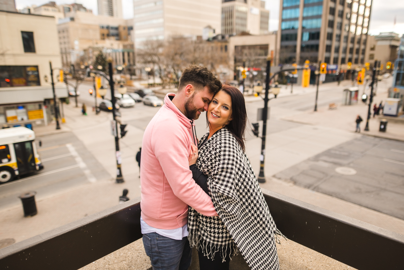 Alex & Michelle's Downtown Hamilton Gore Park James Street North King Street East Engagement Session Aidan Hennebry Urban Wedding Photographer Hush Hush Photography & Film-18.jpg
