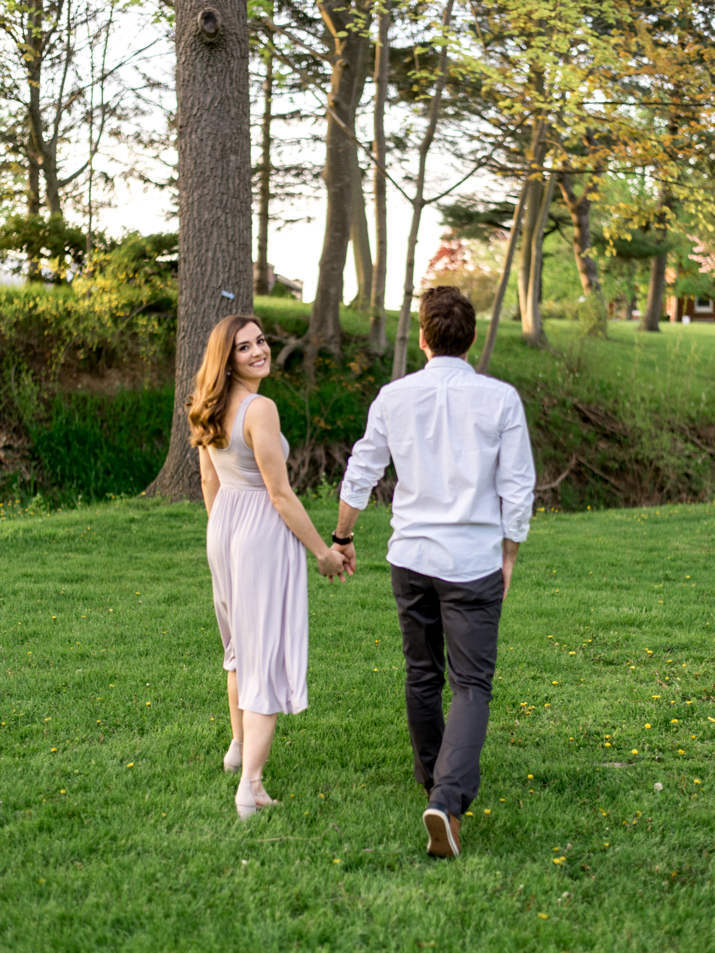 Chris & Heather's Engagement Session in Vineland Ontario Spring Blossoms Trees by Hush Hush Photography & Film Aidan Hennebry - 24.jpg