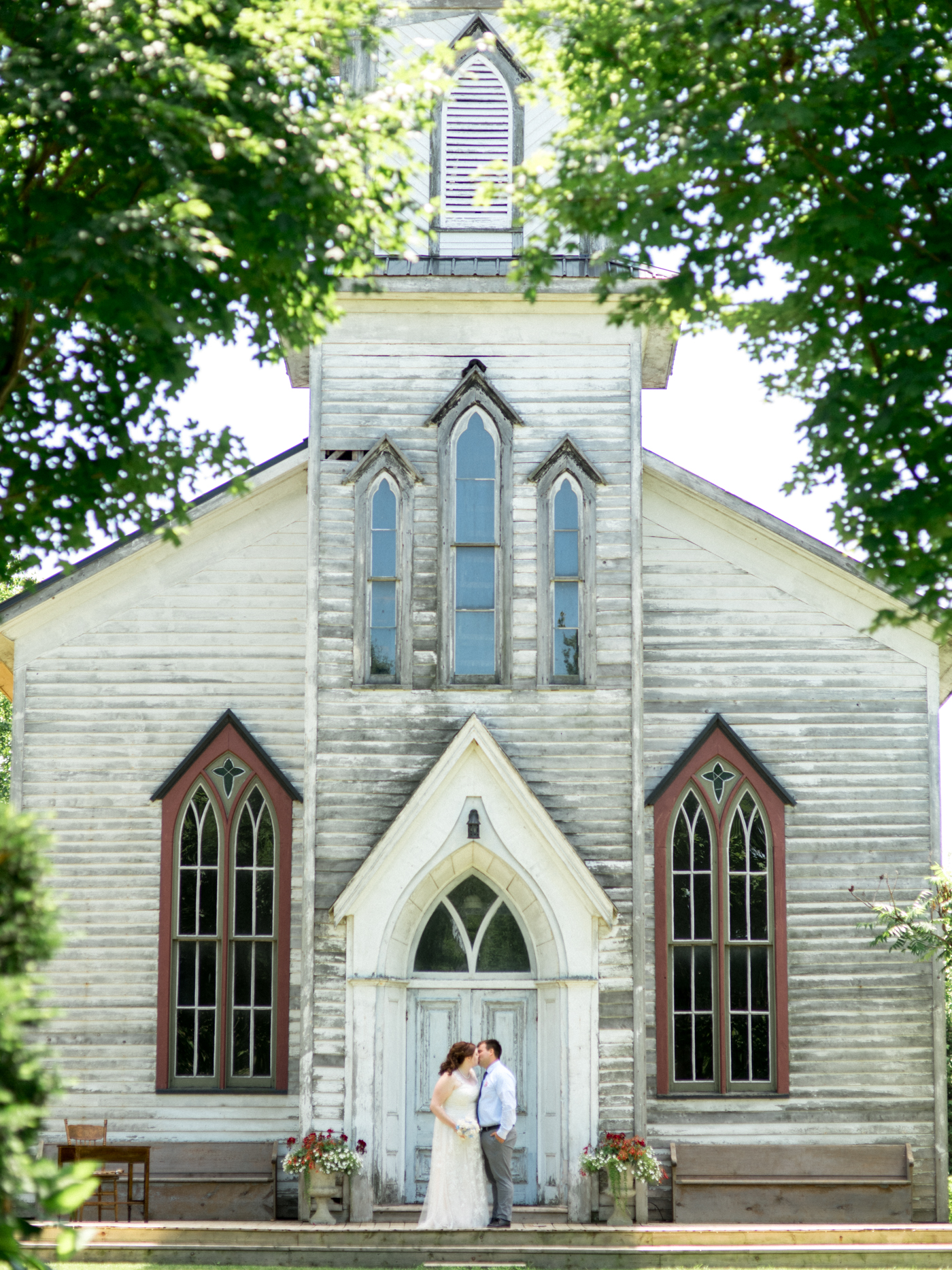 Chris & Carrie's Cranberry Creek Simcoe Port Dover Wedding Church Outdoor Summer Bright Hamilton Wedding Photography Niagara Aidan Hennebry Hush Hush Photography & Film-10.jpg