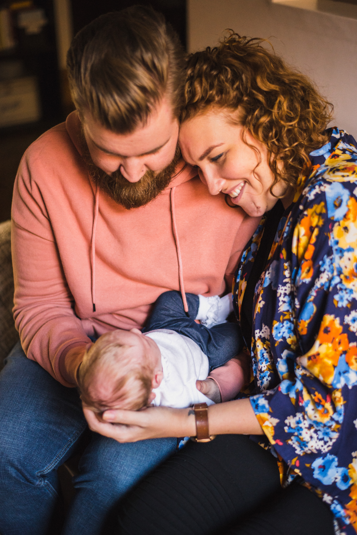 The Stipancic Family At Home Newborn Session Baby 1 Month Old Montreal Quebec Hamilton Ontario Aidan Hennebry Hush Hush Photography & Film Adelaide Pearle-6.jpg