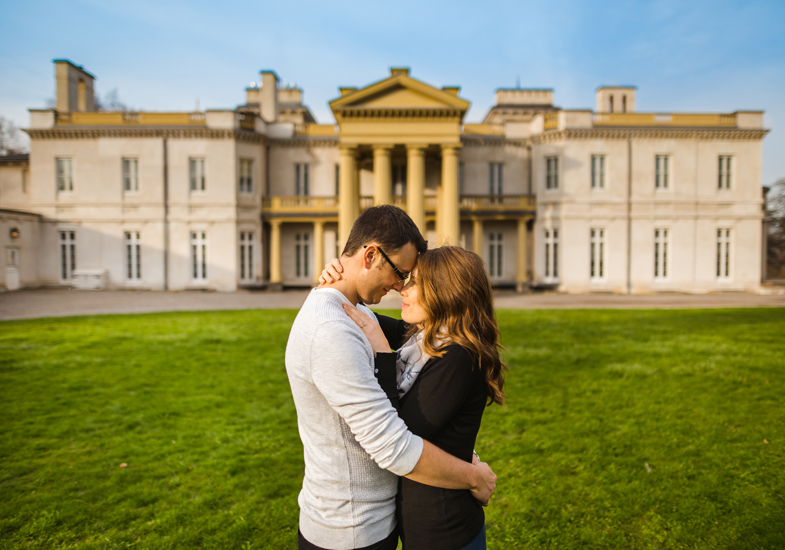 Marcus & Dana's Engagement Session at Dundurn Castle in Spring Hamilton Ontario by Aidan Hennebry Hush Hush Photography & Film Wedding Videographer.jpg